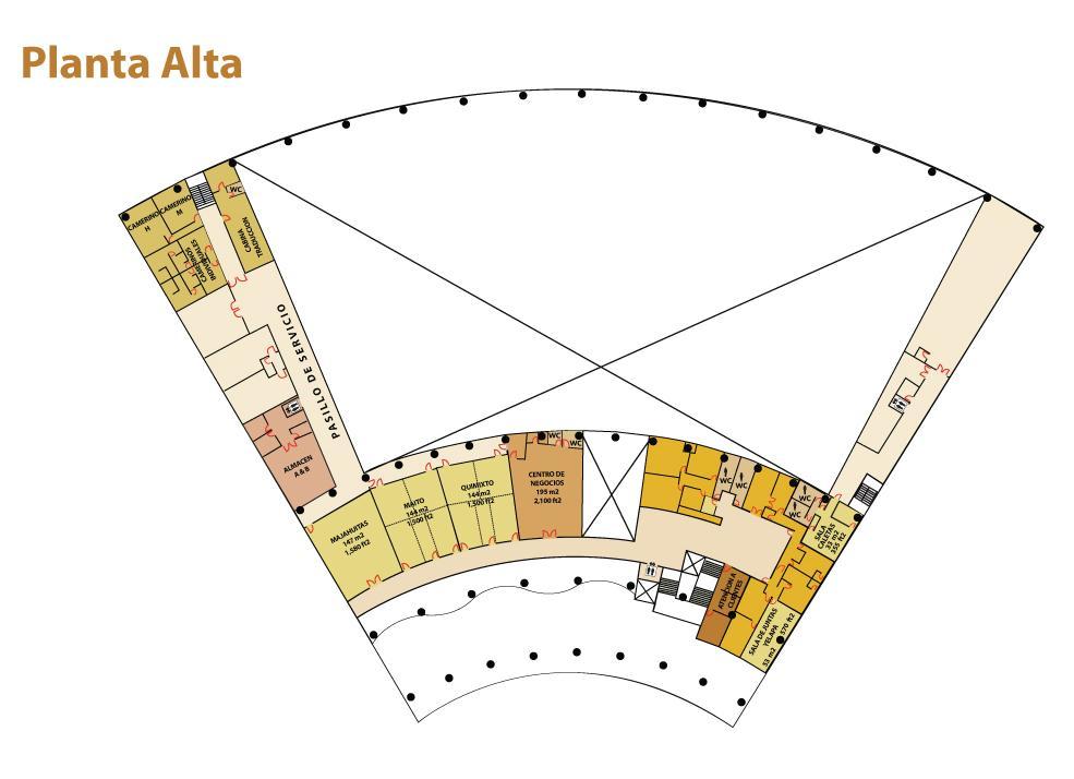 Planta Alta Centro Internacional de Convenciones Puerto Vallarta