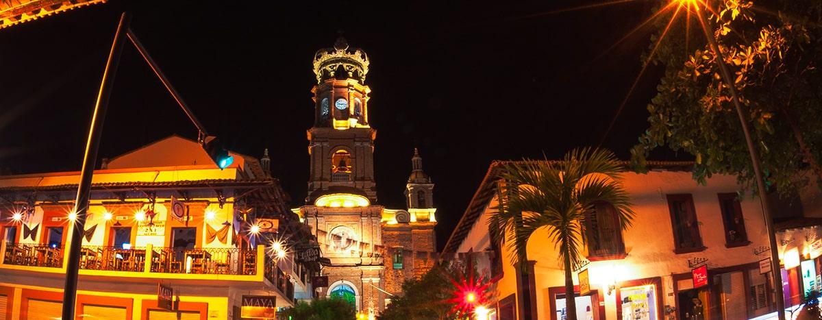Parroquia de Nuestra Señora de Guadalupe en Puerto Vallarta