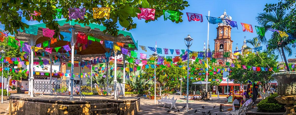 Plaza de armas de Puerto Vallarta