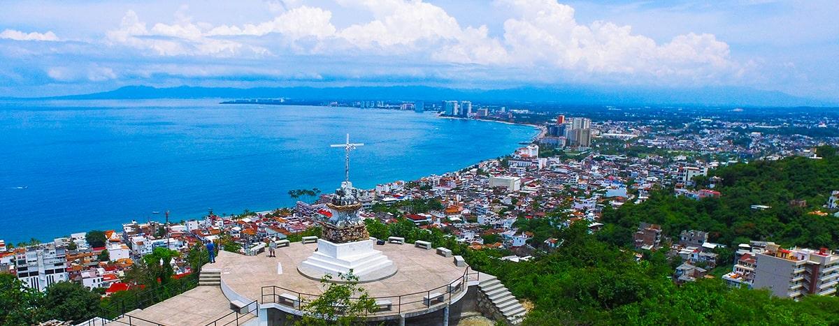 Sube al mirador del cerro de la cruz en Puerto Vallarta