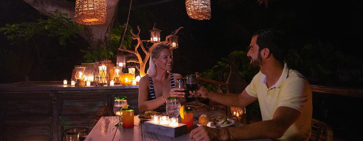 Cena privada en Puerto Vallarta