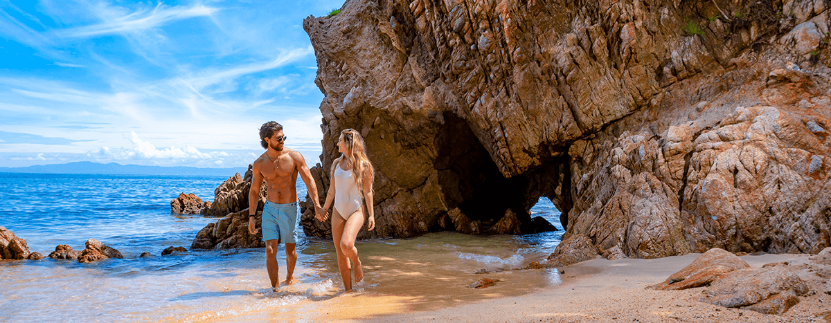Just you, your couple, and the sea